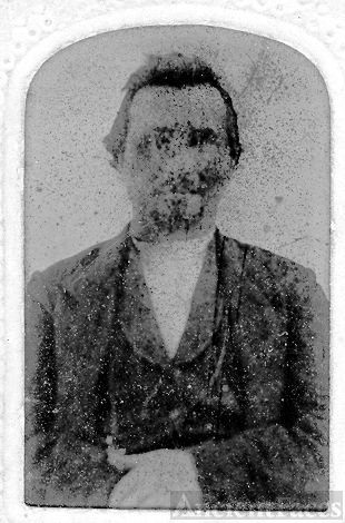 Tin Type Unknown Man AR?