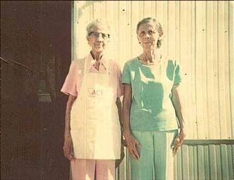 Eunice and Ruth Poole