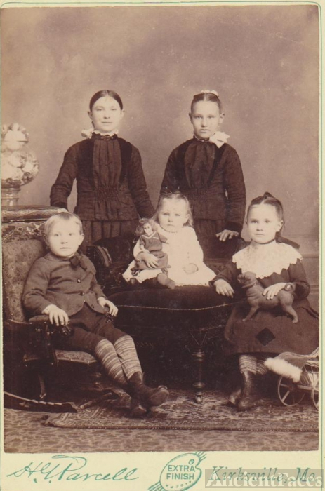 Kirksville, Missouri Unknown Children