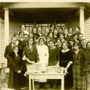 Clara Emma Weber and class at Florida Sanitarium