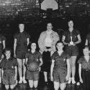 Hodgen or Heavener High School 1954 Girl Basketbal