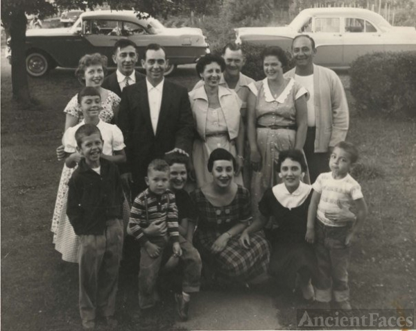Marinello Family Reunion 1953
