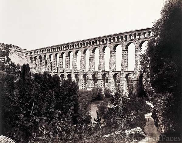 Aqueduct Roquefavour Railway Bridge