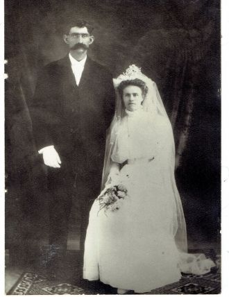 Ira and Minnie (Maley) Ogden