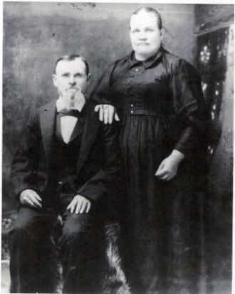 Isaiah and Clarissa Middleton Deel