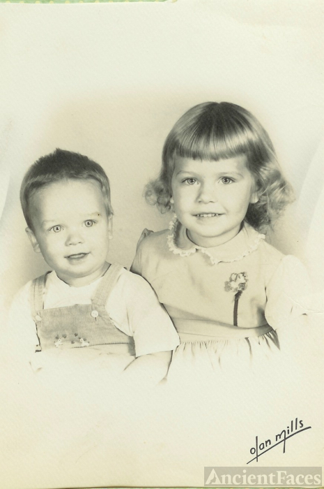 The Hanley siblings, West Virginia 1959
