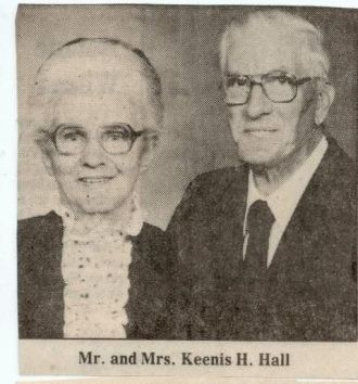 Mr Mrs Keenis Hugh Hall