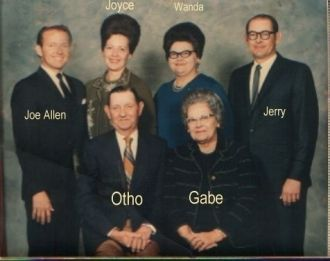 Gabriella (Givens) & O. B. Helms & Family