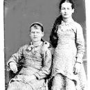 Sarah M. and Mary C. Sisk, c 1883