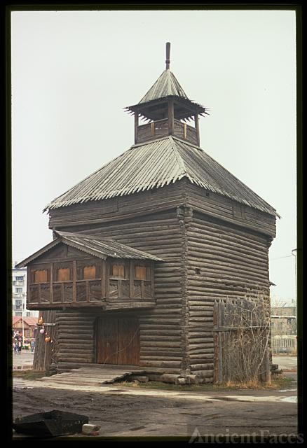 Yakutsk Fort tower, (1685), Yakutsk, Russia
