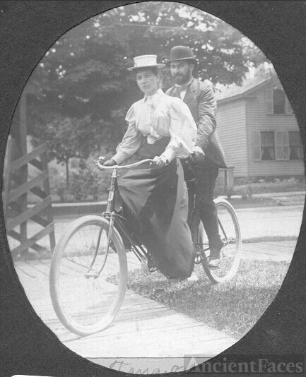 Robert and Tena Baur, Ohio 1899