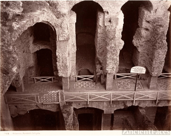 Palatine Hill - Caligula's Bridge
