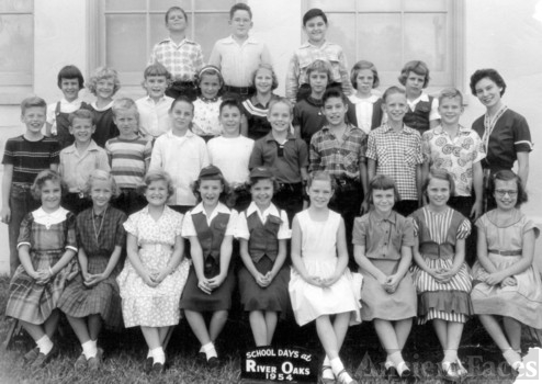 River Oaks Elementary School 1954