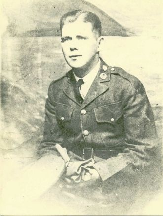 Lewis in uniform
