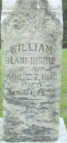 William Blankenship gravesite