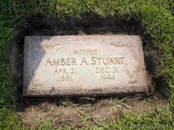 Mother of Leo Stuart