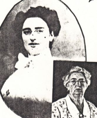 A photo of Bessie (Hereford) Brown