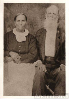 John Alexander Bull and Mary Delia Self