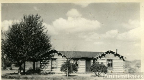 John H. and Elizabeth Gill Home in Yost,Utah