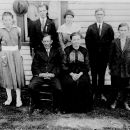 Albert and Gertrude Francis Kight Family