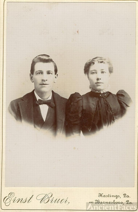 My grandfather Robert Dillon and his first wife