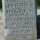 Myron Spencer Higley Headstone