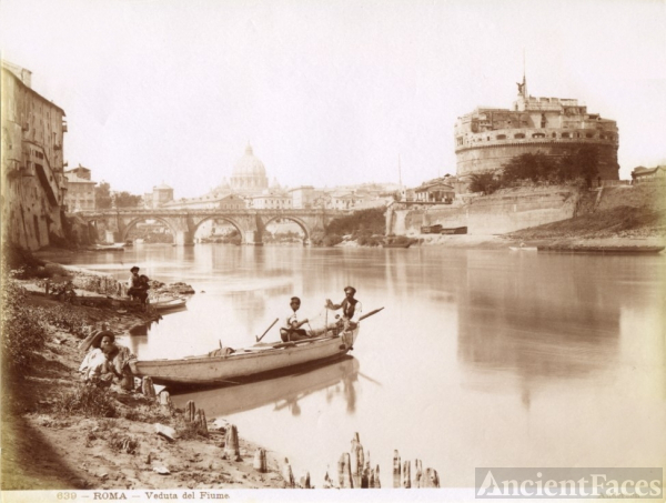 View from the Tiber River