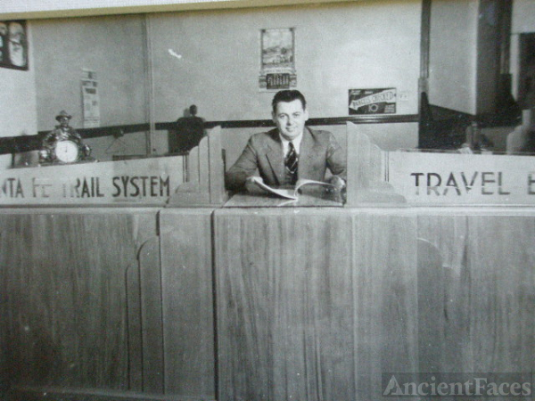 Ira L. Swander: Ticket Agent, Sante Fe Trail System