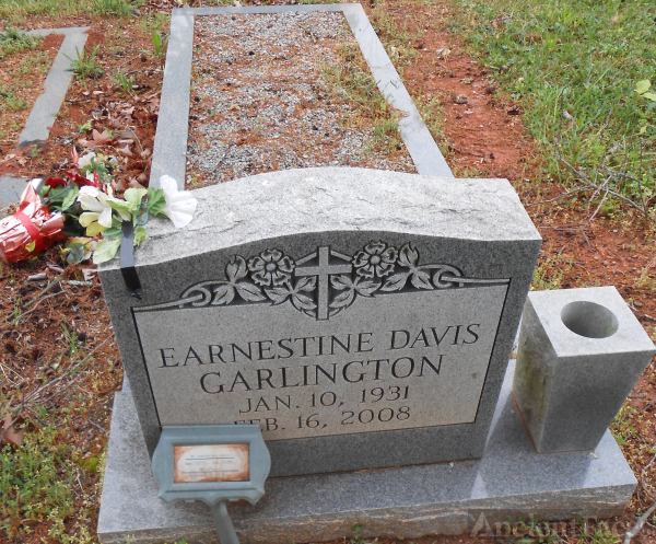 Earnestine Garlington gravesite