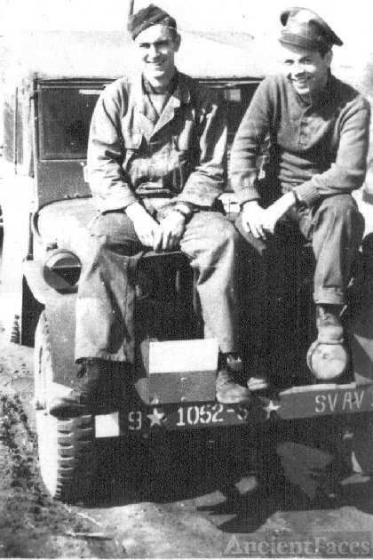 George M. Parker and George G. Lewis WWII
