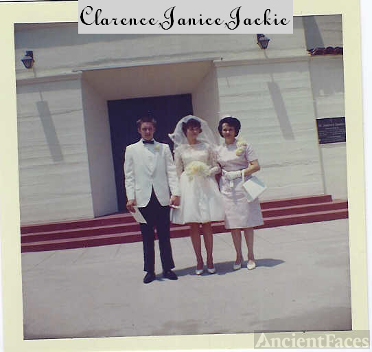 JANICE NEWELL AND CLARENCE CARRAHER WEDDING