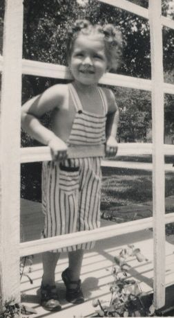 little Vicki Lynn Revert, July 4, 1948