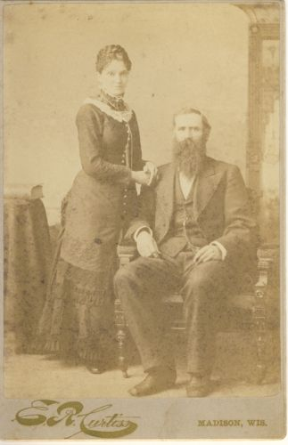 A photo of Henry Tusler and Melissa Kinsey Tusler