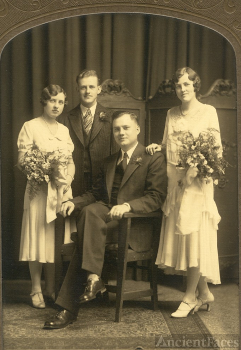 Meyer-Sparks wedding 1930