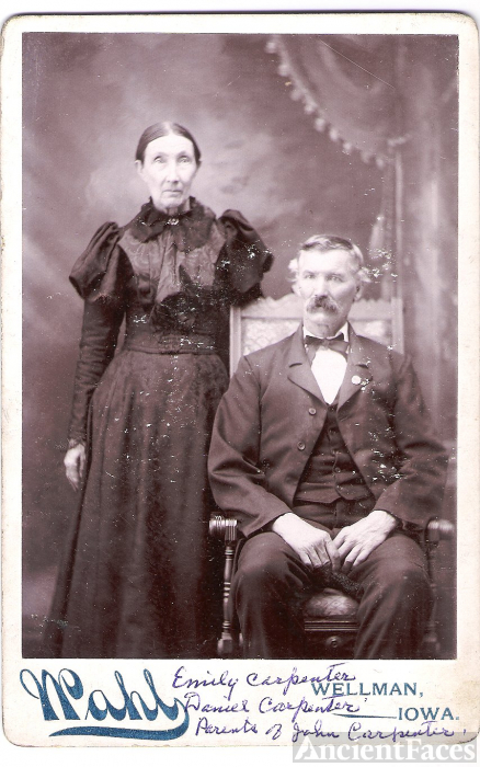 Emily Cook Edmonson Carpenter and Daniel Carpenter