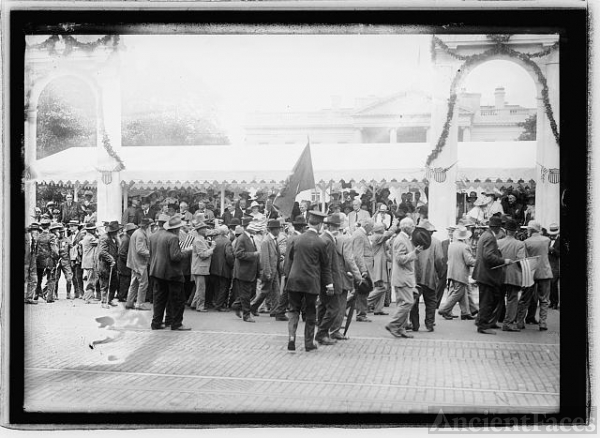 Confederate Veteran's reunion, Wash., D.C., 1917