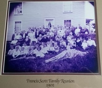 1902 Francis Scott Family Reunion