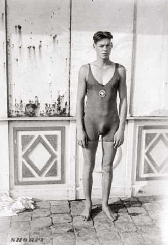 A photo of Johnny Weissmuller