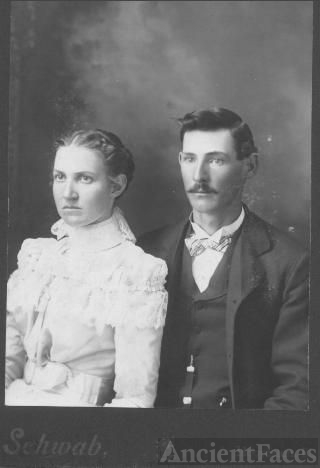 Abner and Maggie (Mitchell) Jarvis, Indiana 1899