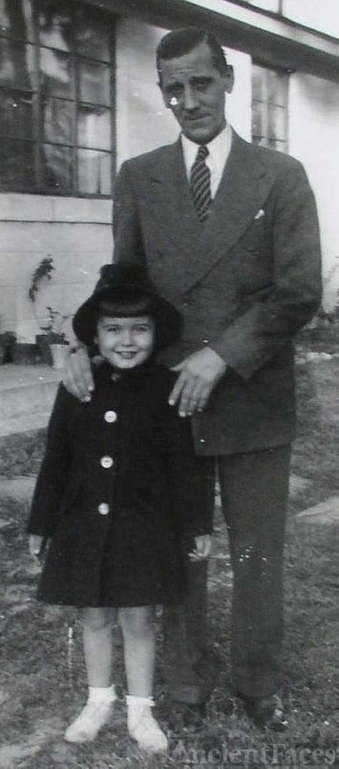 Bob Ingram and daughter Bessie