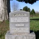 Buckley, J.F. and Nancy-tombstone