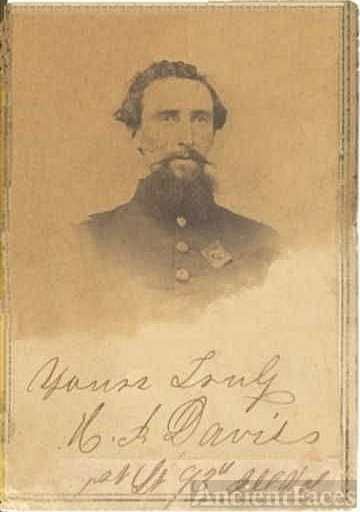 Harrison I. Davis - Civil War