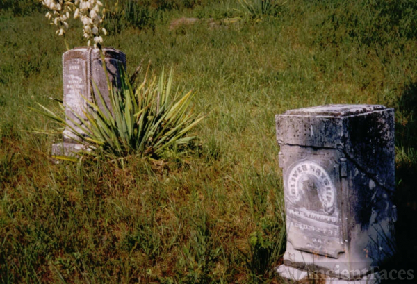 Sarah Jane and Oliver Hayslip gravesite