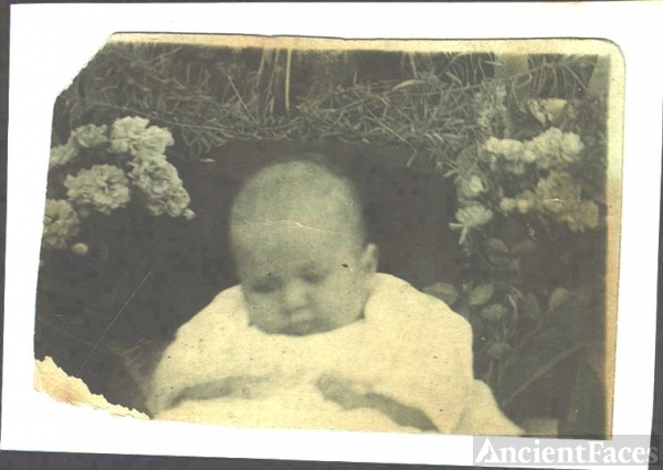 sherman wright - baby picture
