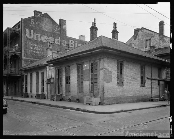 Dumaine St. at Bourbon, New Orleans, Orleans Parish,...