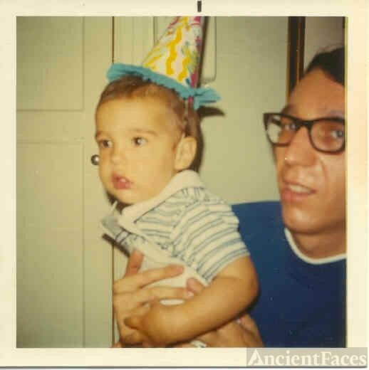 John Bianco and son Jimmy 1970