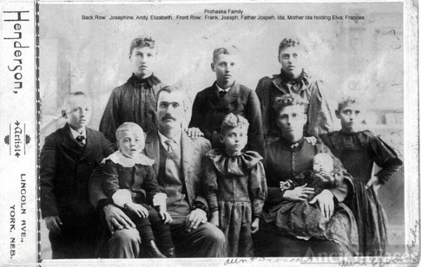 Joseph Prohaska Family