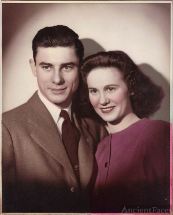 Ray  & Ruby  Eager, 1945
