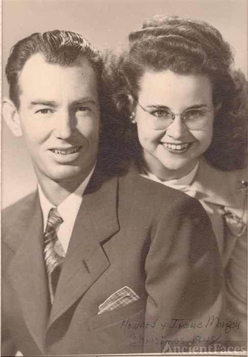 Howard and Irene Morgan, California 1948