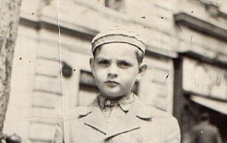 Josef (Adorjan) Daka, 12 years old.